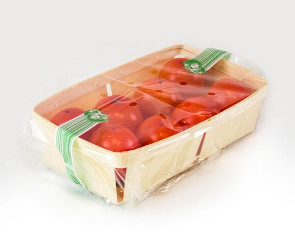Cesta de madera para fruta