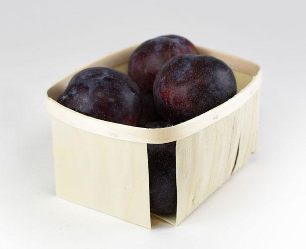 Cesta de madera para frutas