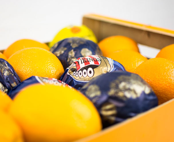 Papel de seda para cajas de fruta