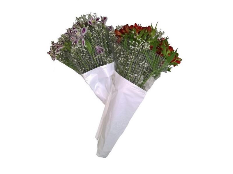 Envoltorio para ramos de flores de tallo largo Filets fleurs