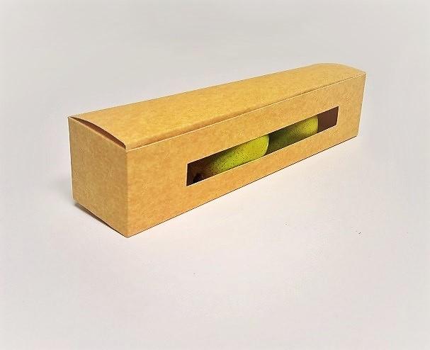 boîte carton pour fruits fermée