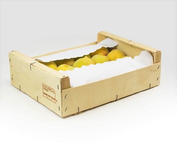 fondo papel para proteger fruta en cajas