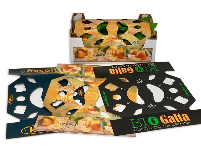 Cubre carton Kraft para frutas Balandrina